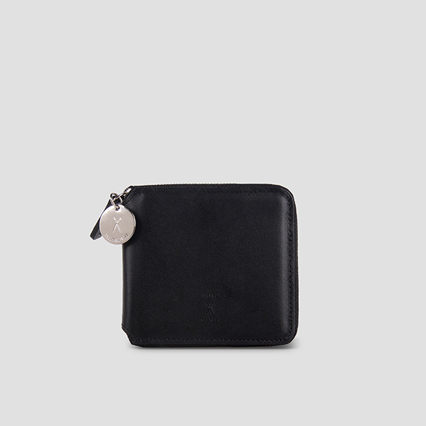 OZ Wallet Half Modern Black