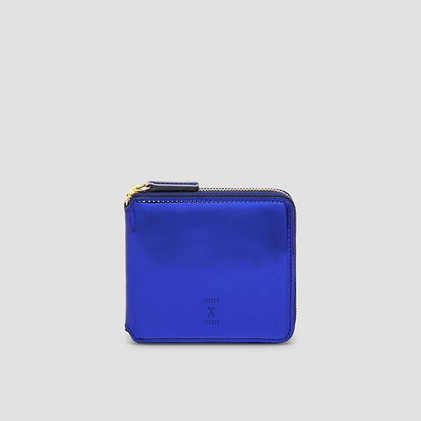 Easypass OZ Wallet Half Mirror Blue