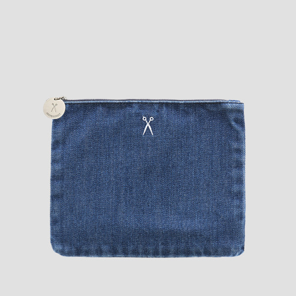 OZ Flat Pouch Denim