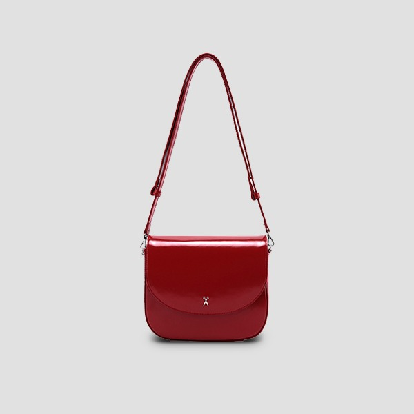 [러블리즈 유지애 착용] Luna Disco Cross Bag Barbados Red