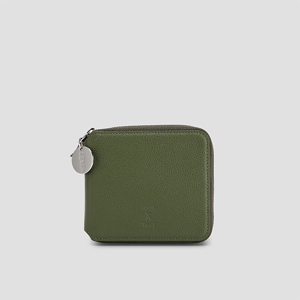 OZ Wallet Half Avocado Green