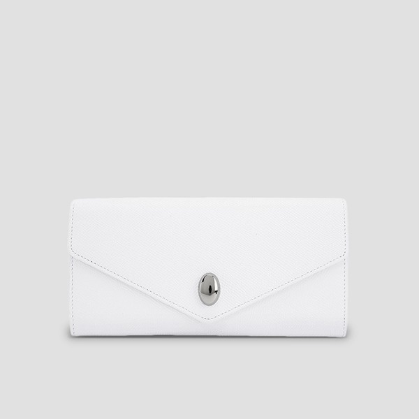 [박세완 착용]Easypass Koala Wallet Long Whisper White