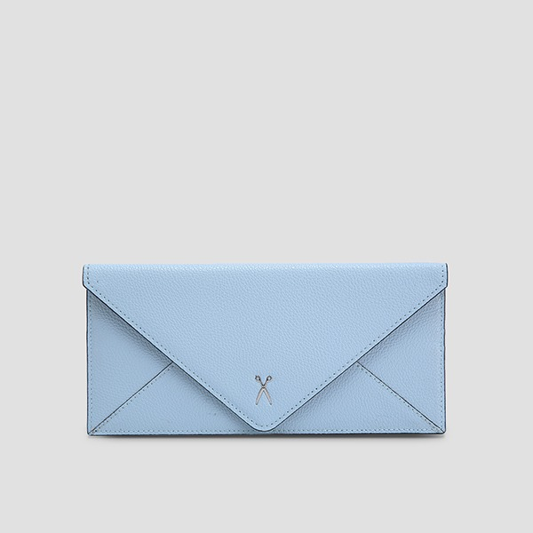 Easypass Amante Flat Wallet Long Candy Blue