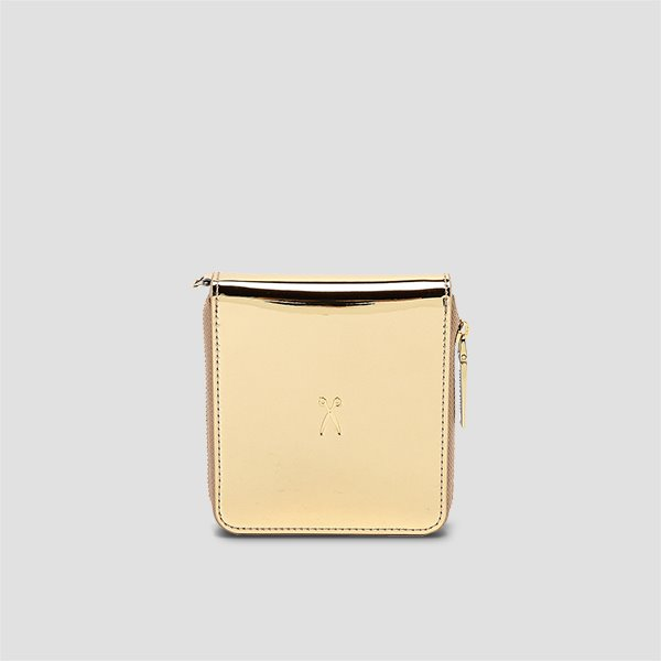Easypass OZ Wallet Bolt Mirror Gold(+Gold Chain)