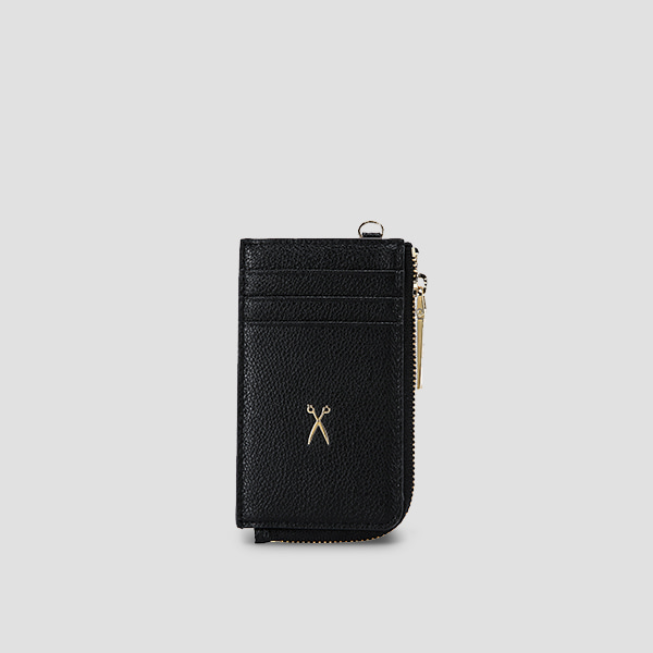 Easypass OZ Vertical Card Wallet Rich Black