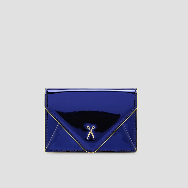 Easypass Amante Card Wallet Mirror Blue