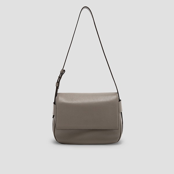 [서은수 착용]Luna Bubble Cross Bag Taupe