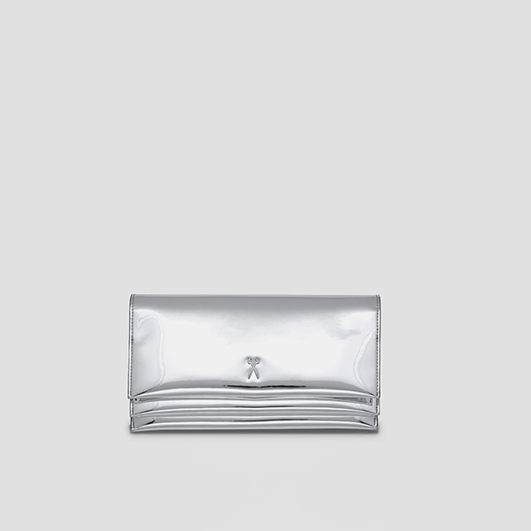 [배우 천이슬 착용] OZ Organizer Clutch Mirror Silver