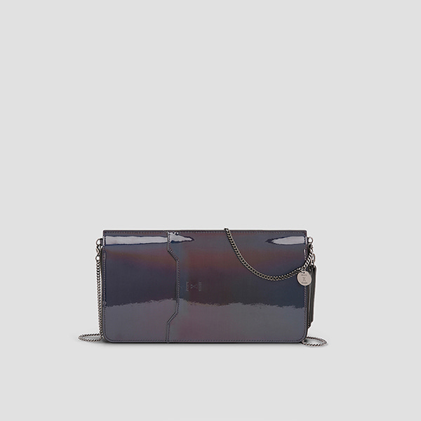 Thomas Organizer Clutch Mirror Black