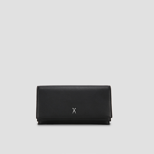 OZ Organizer Clutch Rich Black