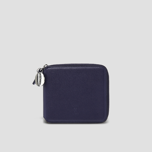 OZ Wallet Half Posy Navy