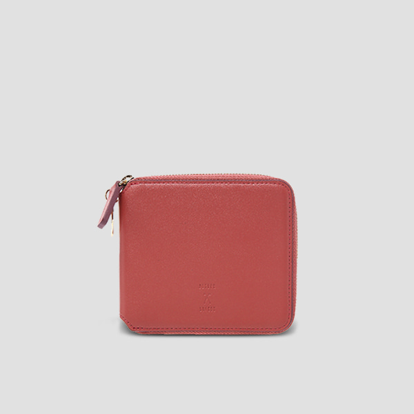 OZ Wallet Half Mineral Red