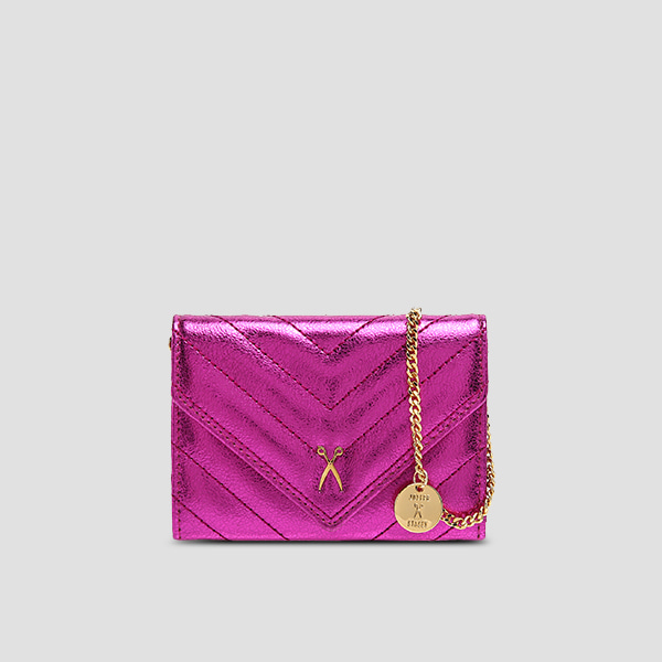 Easypass Amante Card Wallet Eve EditionBubble Pink(+Chain Strap)
