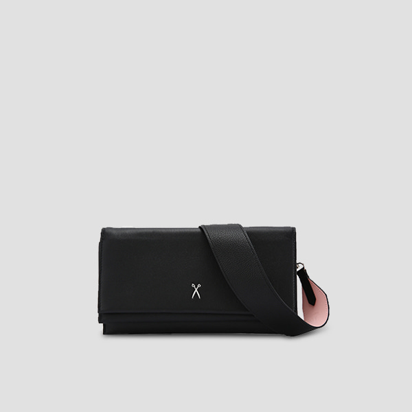 [드림캐쳐 유현 착용] OZ Organizer Clutch Rich Black