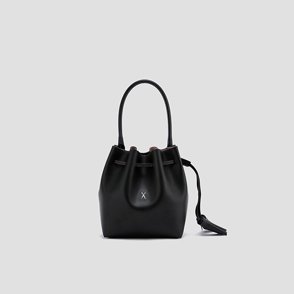 [문가영 착용]OZ Bucket Bag S Rich Black