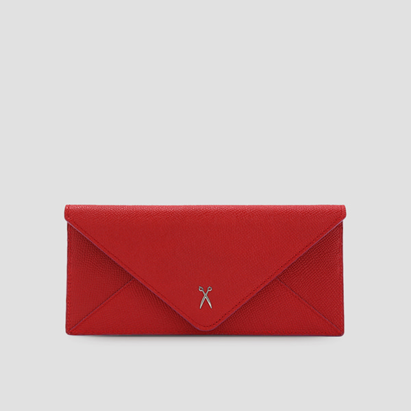 Easypass Amante Flat Wallet Long Barbados Red