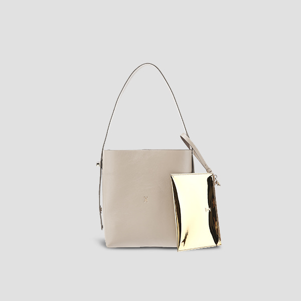 [스타 인스타그램 착용]Joseph Shopper S Ecru Beige(Gold)