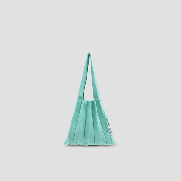 Lucky Pleats Knit S Neo Mint